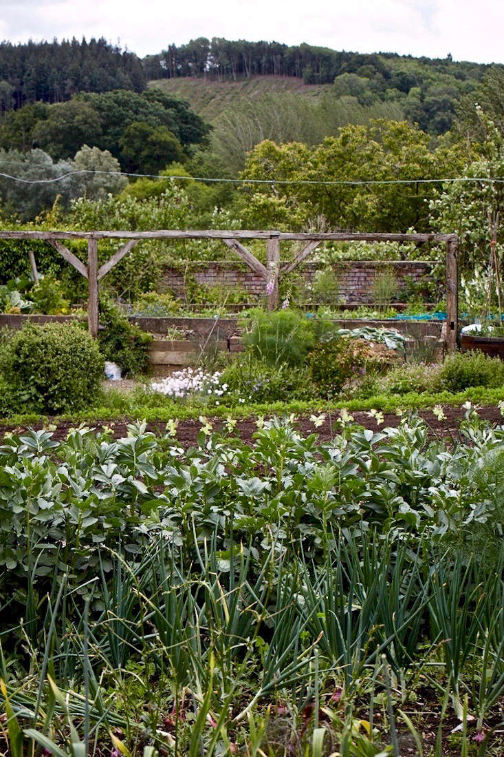 See more at Walled Gardens: An Organic and Picturesque Plot at Old-Lands in Wales. Photograph by Britt Willoughby-Dyer.