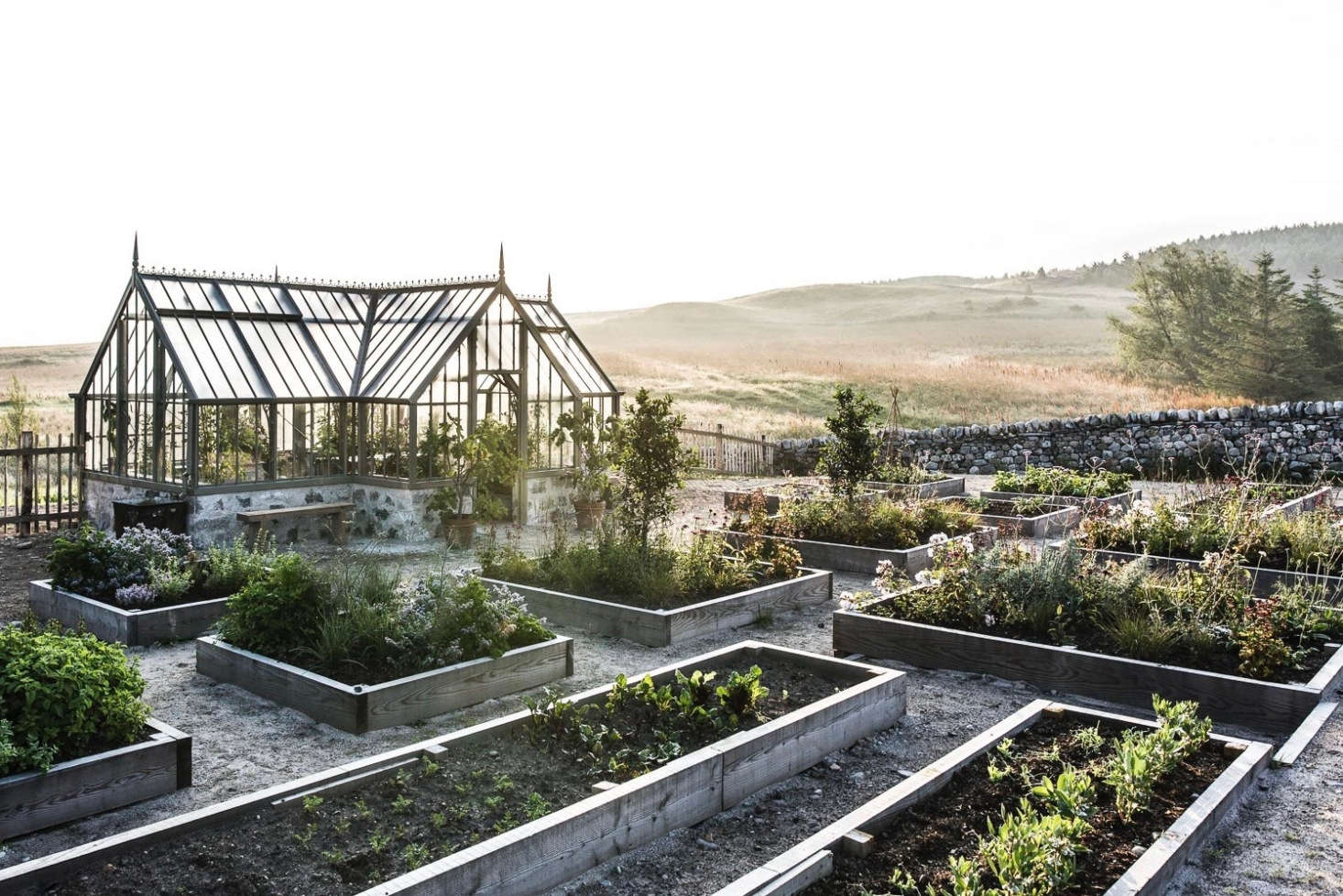 See more of this garden at Killiehuntly Farmhouse: An Organic Garden in the Scottish Highlands. Photograph by Martin Kaufmann, courtesy of Killiehuntly.