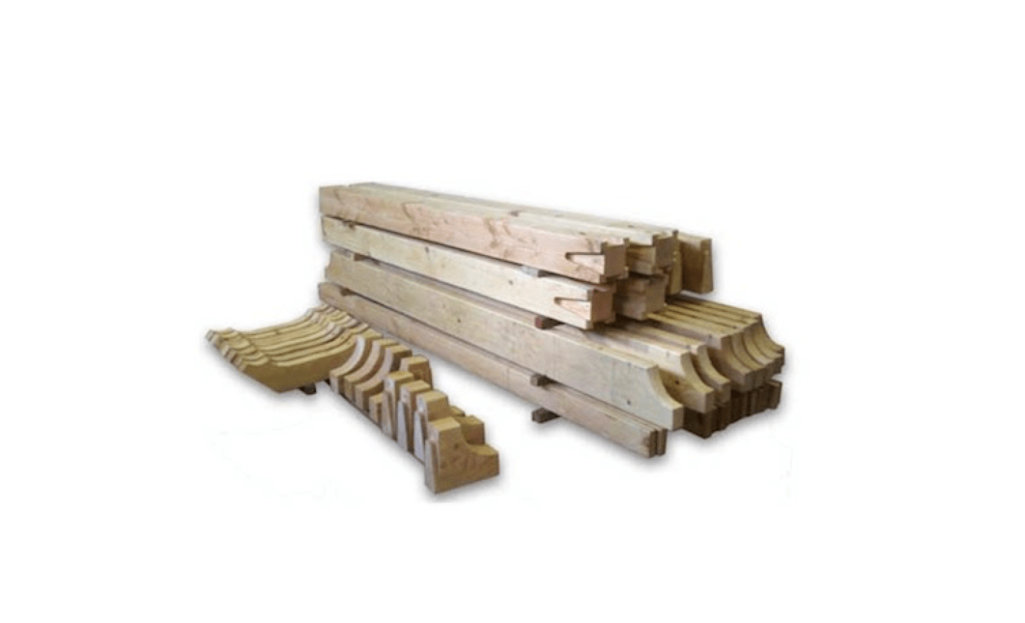 For a selection of wooden Arbor & Trellis Kits, see Western Timber Frame.