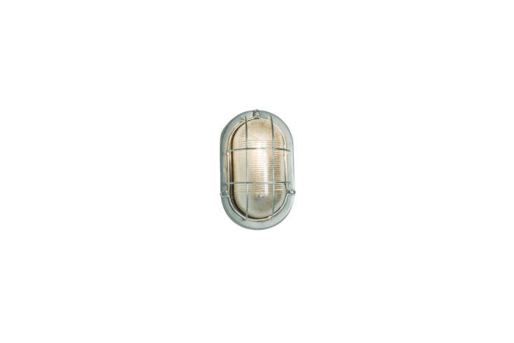 The Davey Lighting Oval Aluminum Bulkhead with Guard is $3 at Horne.