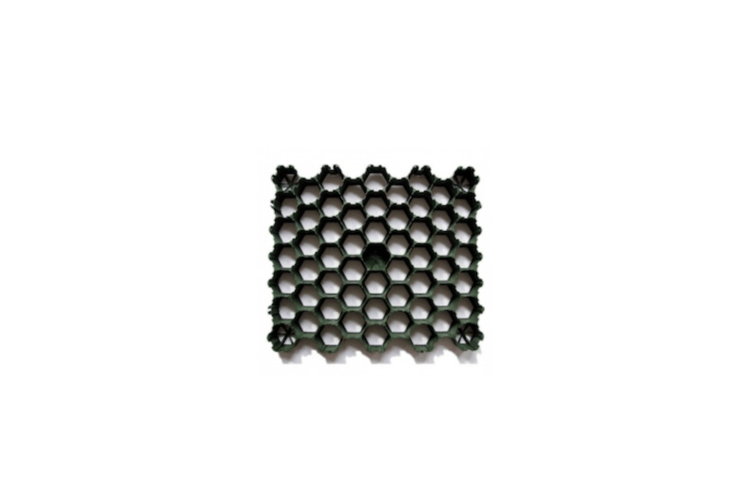 A Recyclable Plastic HDPE Grass Paver Gridhas a bee&#8\2\17;s-nest shell and is available in four pressure strengths for both residential and commercial-load capacities. See the range and pricing at Green Grass Grid.