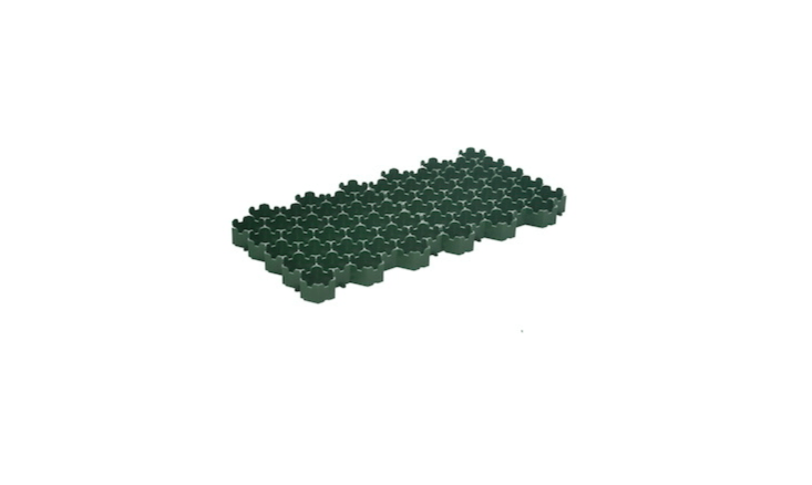 From Australia-based Grass-Cel, a Porous Turf Paving Block made of eco-friendly recycled materials is sold in packs of \10 blocks; \$33.\25 AUD from Grass-Cel.