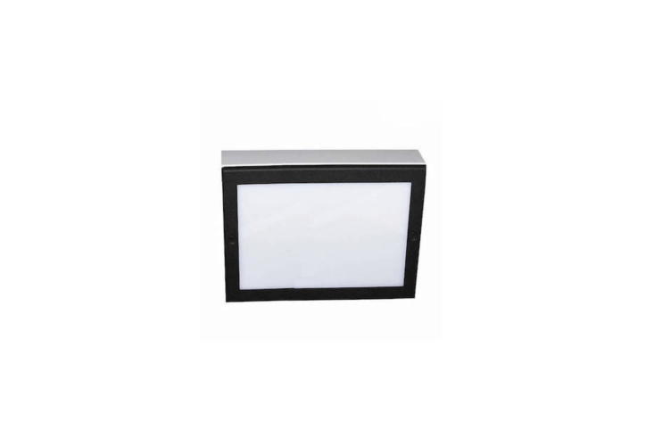 An LED Paver Light with a high-impact acrylic lens has a pressure rating of 8.800 pounds and is suitable for use on a driveway. Available in \13 finishes, including Aluminum with Black (shown), it starts at \$\257.40 at Lumens.