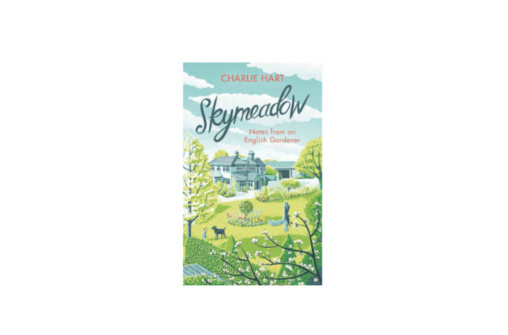 A hardcover copy of Skymeadow: Notes from an English Gardener is€loading=