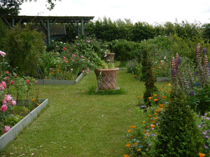 Charlie Hart&#8\2\17;s rose garden.