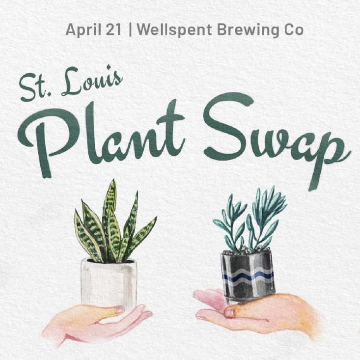 An invitation, designed by Asa Schultz, last year to a plant swap in Columbus, Ohio. SeeThe New Sharing Economy, Plant Swap Edition.