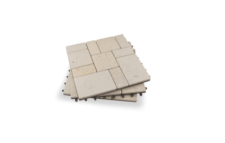 Made of natural stone, a box of ten loading=