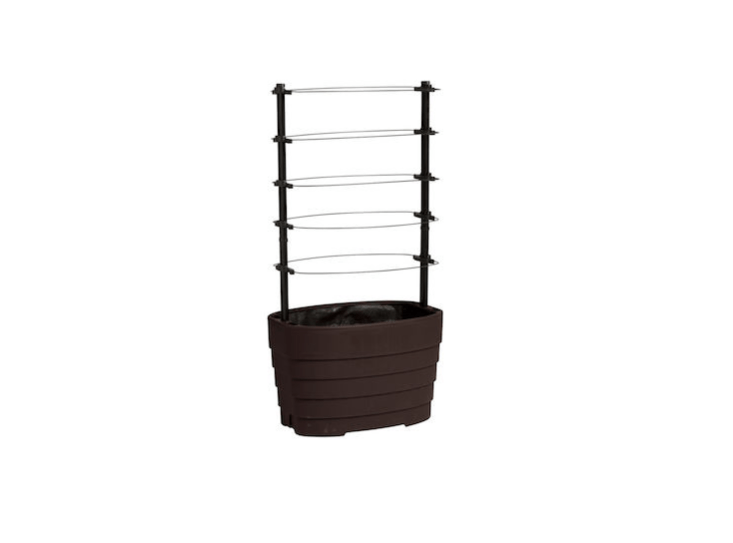 Sized to fit two bush-variety tomatoes, aClassic Tomato Planter has vented sides and is \$\10\1.\15 from Gardener&#8\2\17;s Supply.