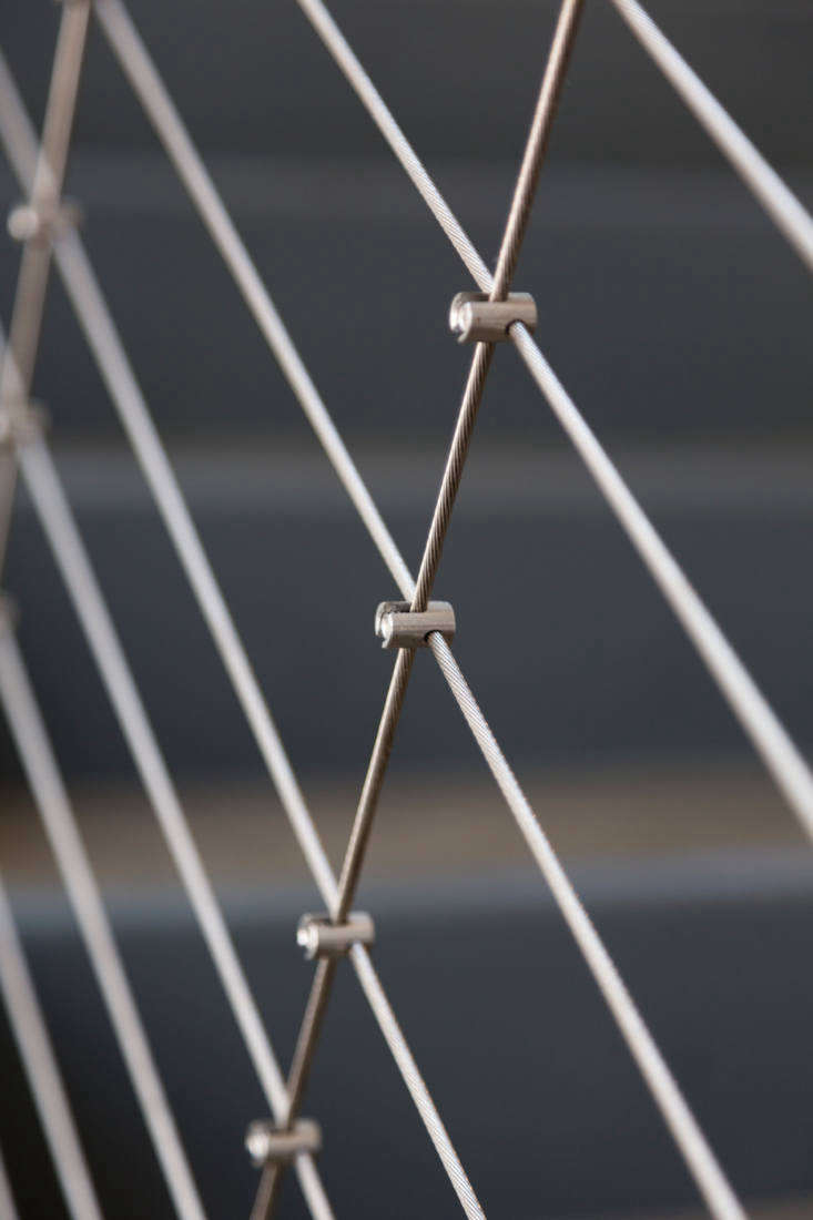 Feeney offers a variety of CableRailAccessories including micro cross-clamps, which are used to make a grid design.
