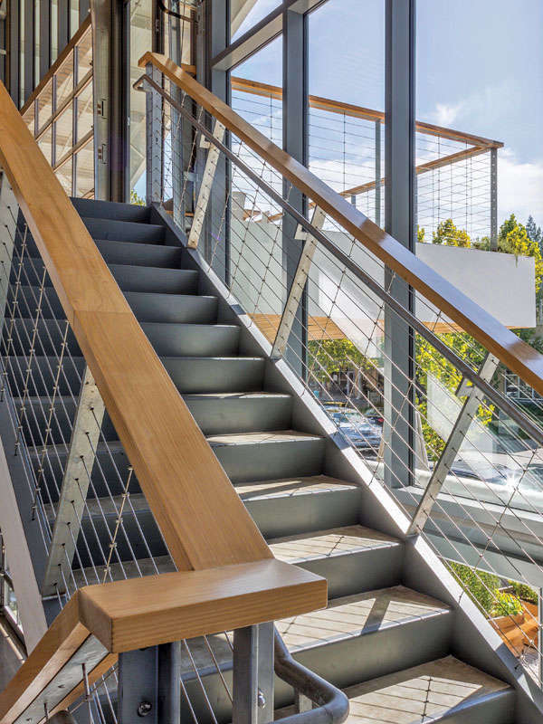 Feeney CableRail cables are versatile and can be used for both level and stair railings in interior, exterior, residential, and commercial settings.