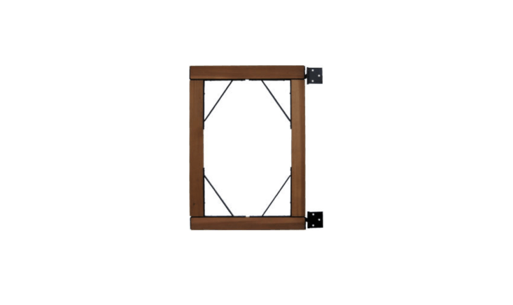 Artistic Steel Gate Braces are suitable for use with four