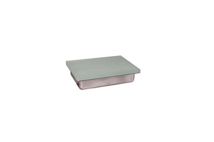 Powered by an LED, a Shine Stone Paver Light has frosted glass &#8\2\20;for minimal glare&#8\2\2\1; and measures six by nine inches and is \$54.97 from Volt.