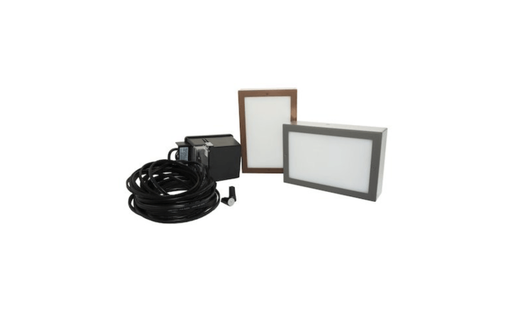 Nox Lighting&#8\2\17;s illuminated pavers also are available in Paver LightKits that include eight or \14 paver lights, a \150-watt low voltage transformer, waterproof wire connectors, and burial wire. Kit prices start at \$637.\19.
