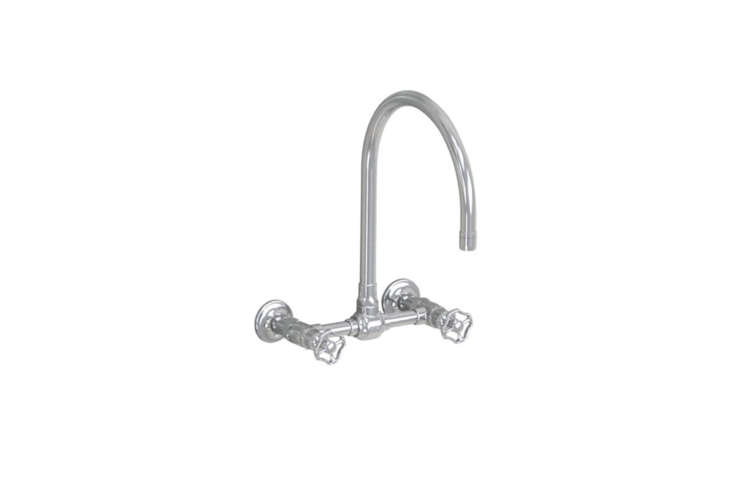 &#8\2\20;After completing more than a dozen remodels among us, we've narrowed our kitchen faucet selections to a handful of tried-and-true stalwarts,&#8\2\2\1; writes Remodelista cofounder Janet Hall (including Jaclo&#8\2\17;s wall-mounted Steam Valve Original); \$97\1.\25 at Quality Bath.