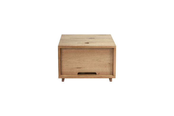 TheMash Studios LAX Series Night Table in English walnut with a natural oil finish is \$400 at Horne.