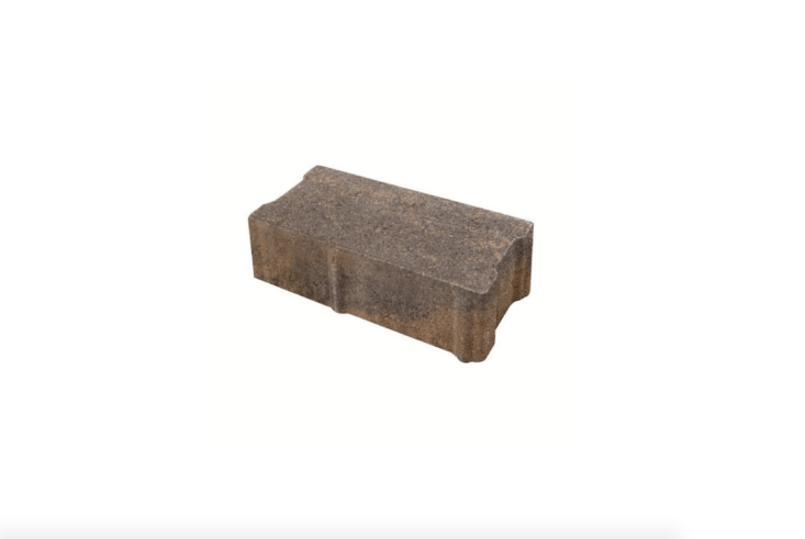 A four-by-eight-inch HydraStone brick system allows water to percolate downward, between pavers, into a layer of compacted gravel. For more information and prices, see Reading Rock.