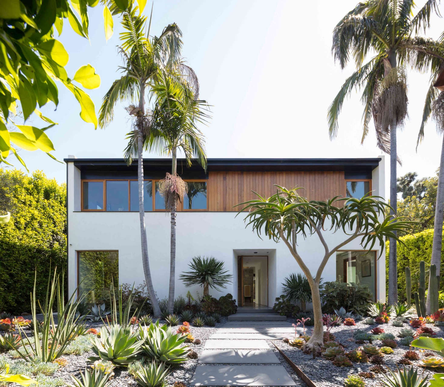 The Best Professional Landscape award went toCampion Walker Landscapes and JacobsChang Architecture, for this private, minimalist dry garden in a busy Los Angeles neighborhood.Photograph by Michael Wells.
