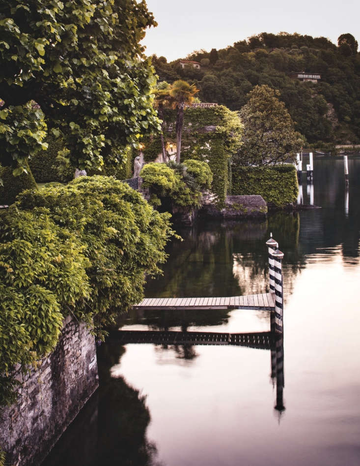One of the best ways to experience Lake Como is from the water. This traditional dock provides access to the lake from the green oasis of the garden.