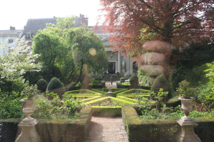 The garden at Museum Van Loon. Photograph by Neil Rickards via Flickr.