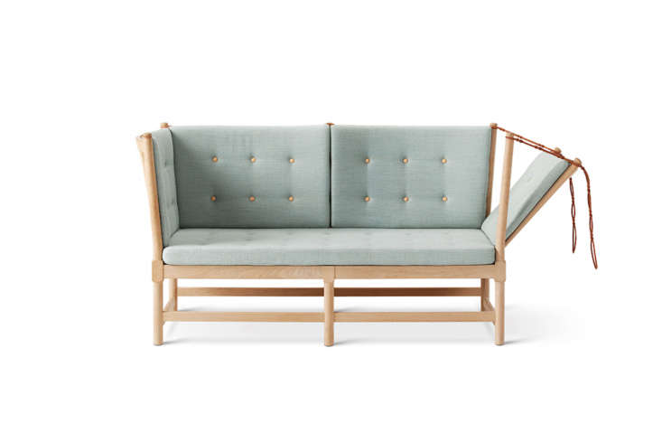Designer Børge Mogensen&#8\2\17;s Spoke Back Sofa (introduced to the world in \1945) is availablein the US for \$9,\2\2\2 at Danish Design Store.