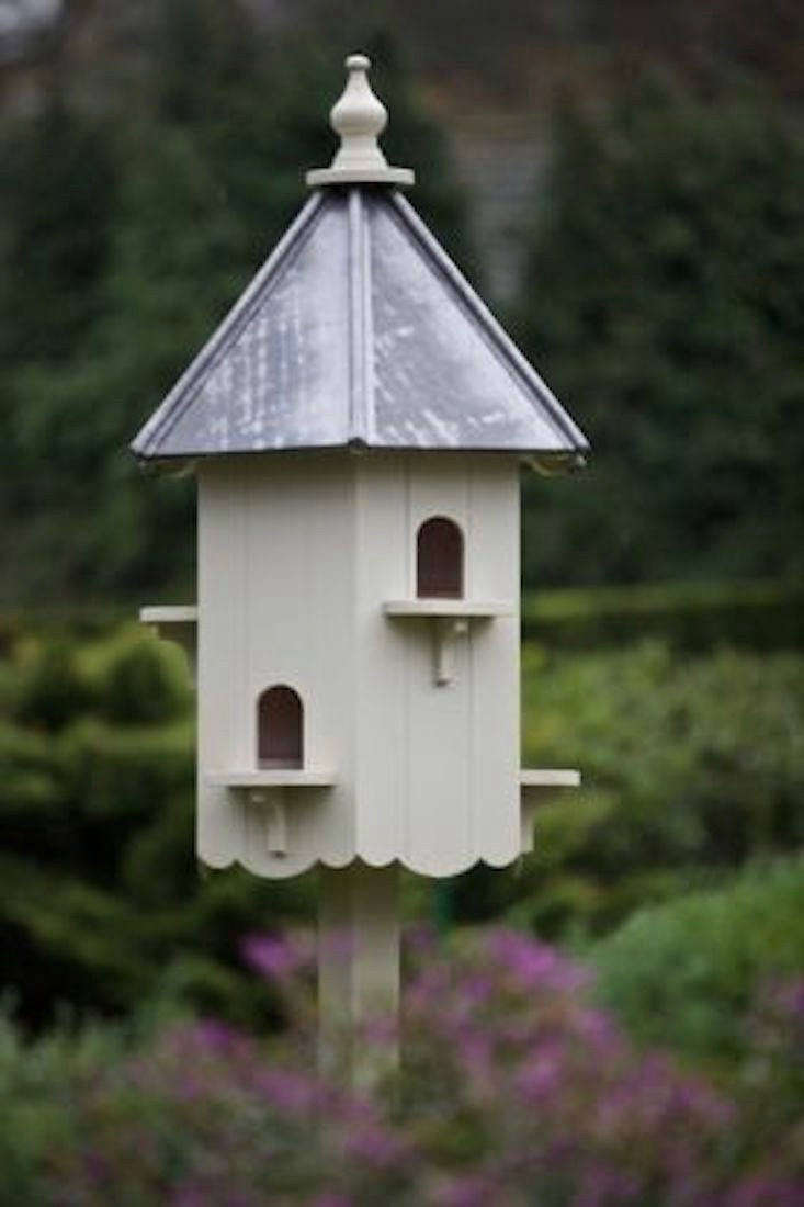 ALead Roof Buckingham Dovecote can accommodate up to six pairs of nesting doves and comes painted in Farrow & Ball&#8