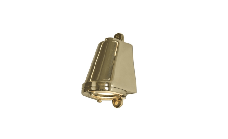 Handmade in England by Davey Lighting, a polished bronze Mast Light is£5 from Peter Reid Lighting. For US customers, a Davey Mast Light is available in three colors; $3 to $389, depending on the finish, at DWR.