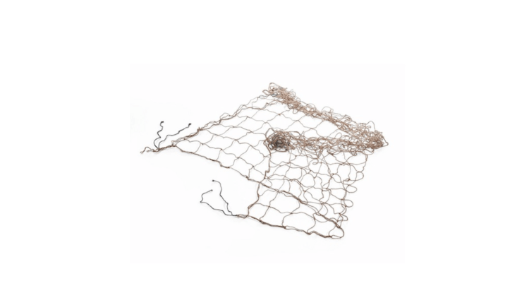 Made of knotted woven jute, a Climbing Plants Net measures 70 inches square and creates a temporary trellis for climbing peas, vines, and flowers; €4.80 from Manufactum.