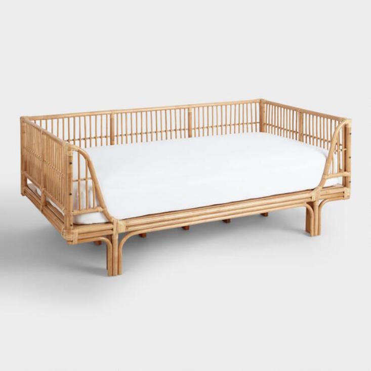 Made in Indonesia, theHoney Rattan Daybed is $549.99 from World Market; twin mattress not included.