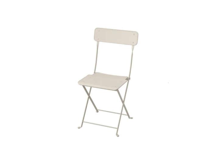 Ikea&#8\2\17;s beige Saltholmen Chair is a steal at \$\25 each.