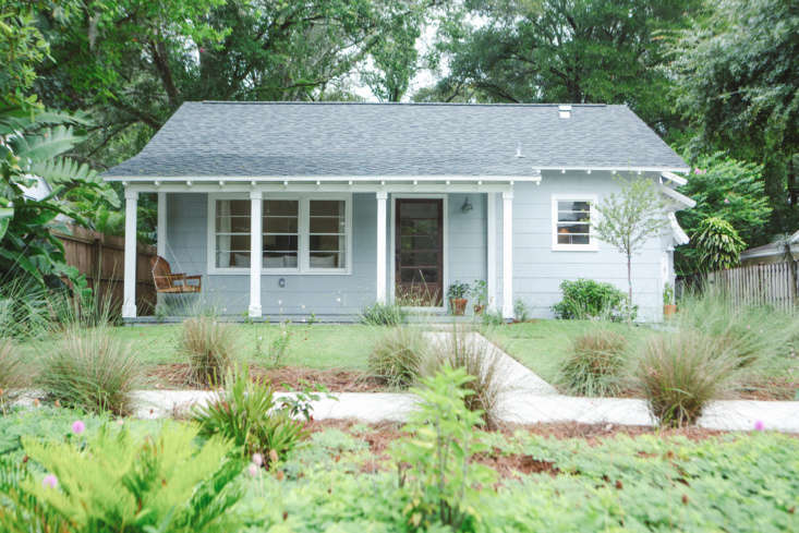 The finished Florida cottage, four years later.