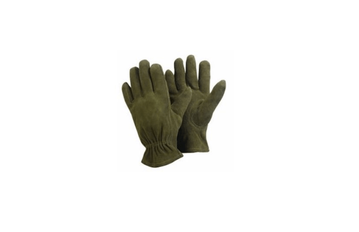 Available in olive, a leather pair of Briers Washable Gardening Gloves is £.07 from Mole Valley Farmers.