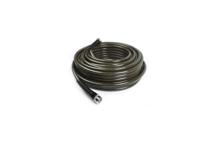 Made by Water Right, a 50-foot Polyurethane Slim & Light Drinking-Water Safe Garden Hose is \$69.95 at Amazon.