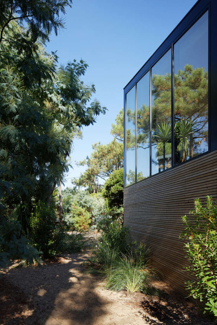The architects collaborated with landscape designer Arnaud Gallou of Ferret Vert, who &#8