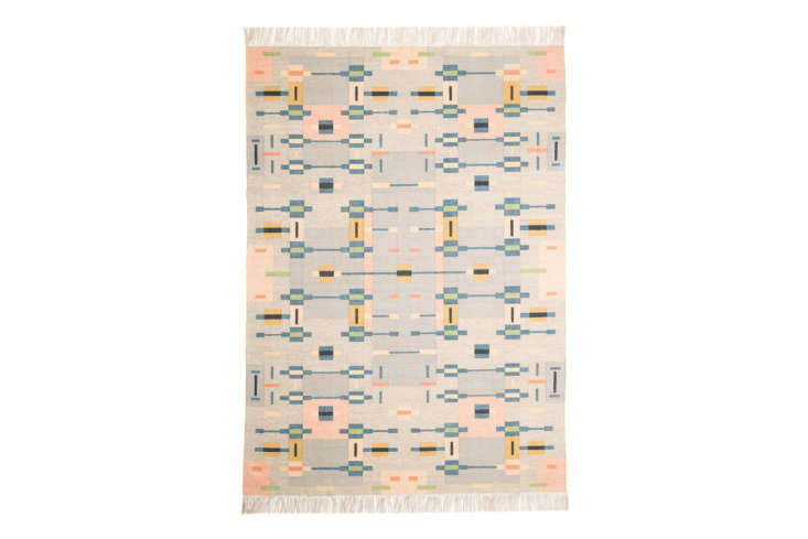 Another design from Oyyo, theÖstra dhurrie rug is €