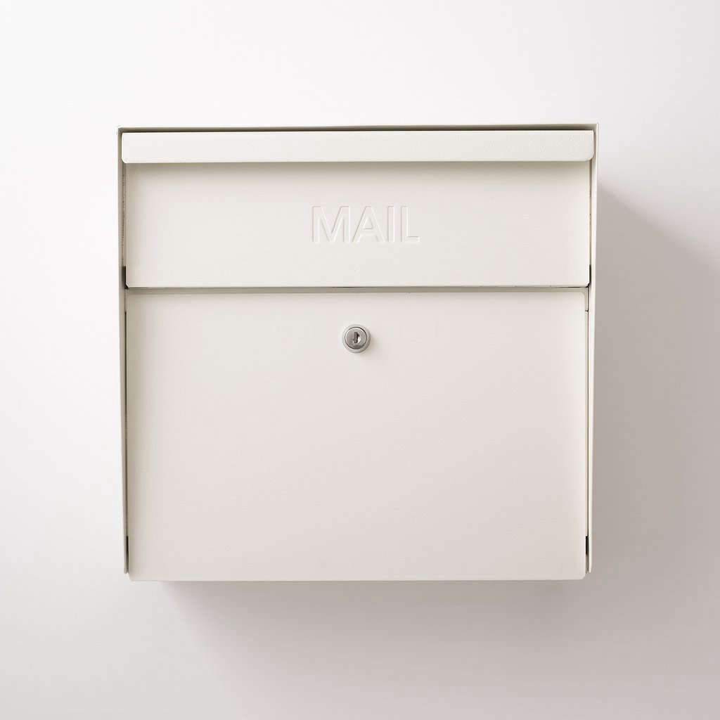 This Locking Mailbox is made of heavy-gauge, galvanized steel with a powder-coated finish in white, black, and green. It&#8