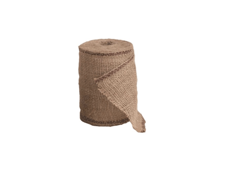 At a width of six inches and a length of 66 feet, a roll ofBurlap Tree Wrap can also be useful in tight corners; \$8.\29 from Gempler&#8\2\17;s.