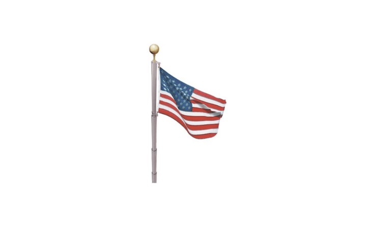 A \17-foot Liberty Flagpole Kit made of rust-free tubing can fly two flags at once and comes with a nylon US flag measuring three by five feet; \$\154.99 from Amazon.