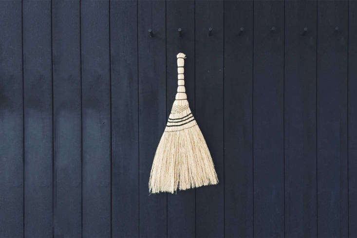 TheJapanese Short Broomcorn Hand Broom is €96 from Pantoufle. For more, see\10 Easy Pieces: Garden Shed Whisk Brooms.