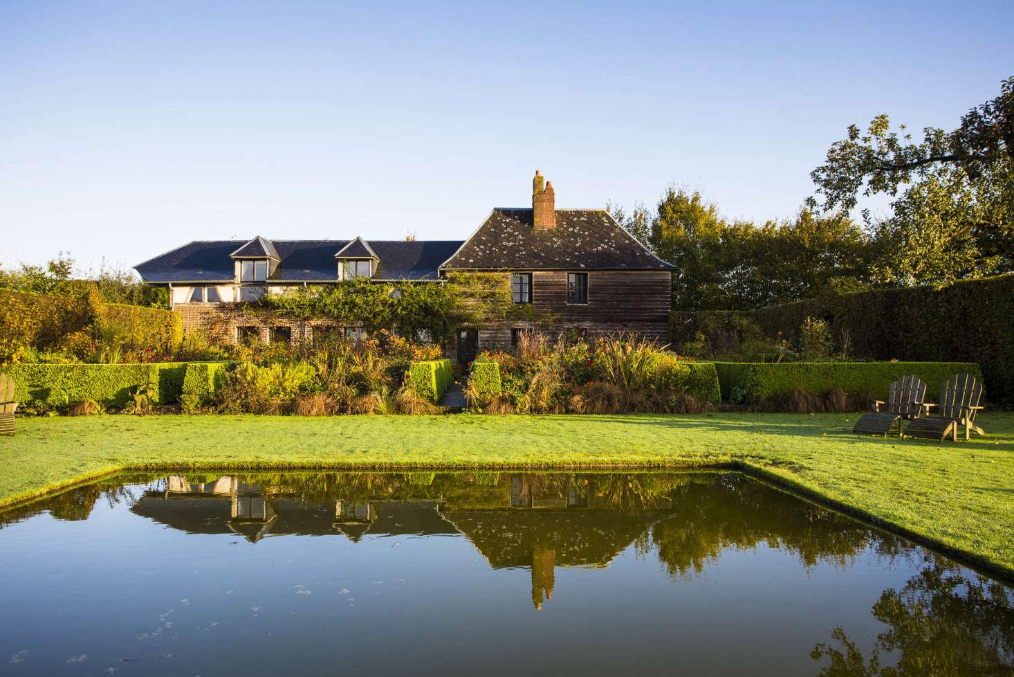 Le Jardin Plume in Auzouville-sur-Ry, near Rouen, France.