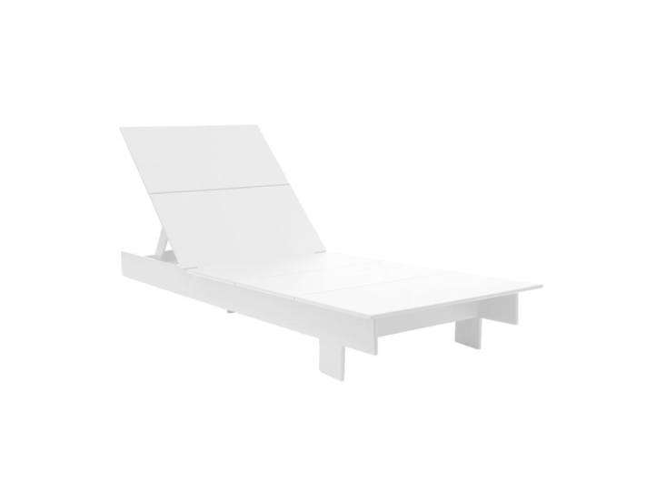 The Loll Designs Lollygagger Chaise is made of 0 percent recycled and recyclable plastic, mostly from post-consumer plastic milk jugs, for $loading=