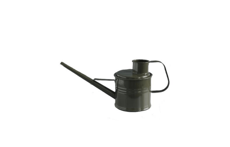 A small olive green Watering Can with &#8