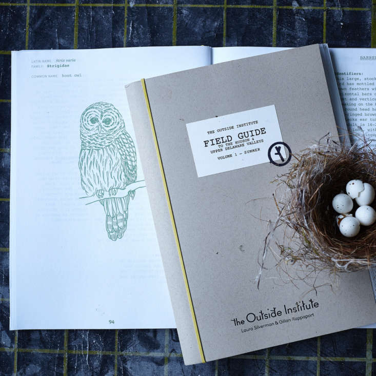 The field guide is published through Wms & Co., which also sells well-designed &#8