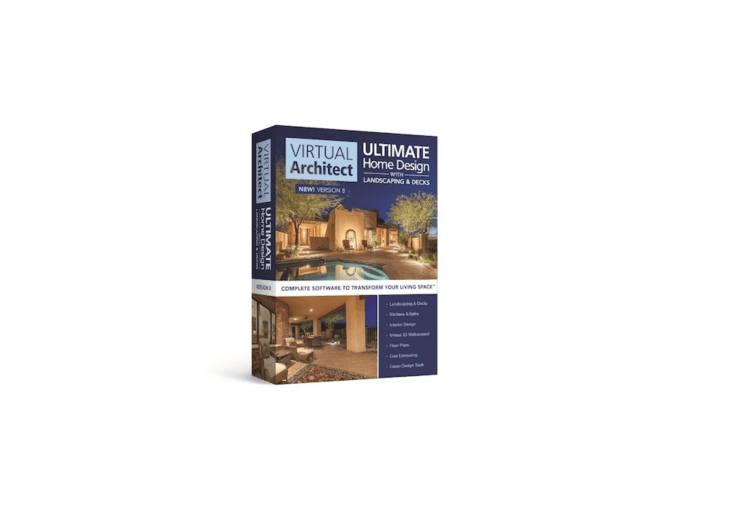 Virtual Architect Ultimate Home Design With Landscaping & Decks is $59.99 from Home Design Software.