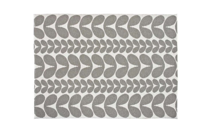 Brita Sweden&#8\2\17;s Karin Rug, pictured in concrete, is between \$93 and \$433 at Nordic Nest.