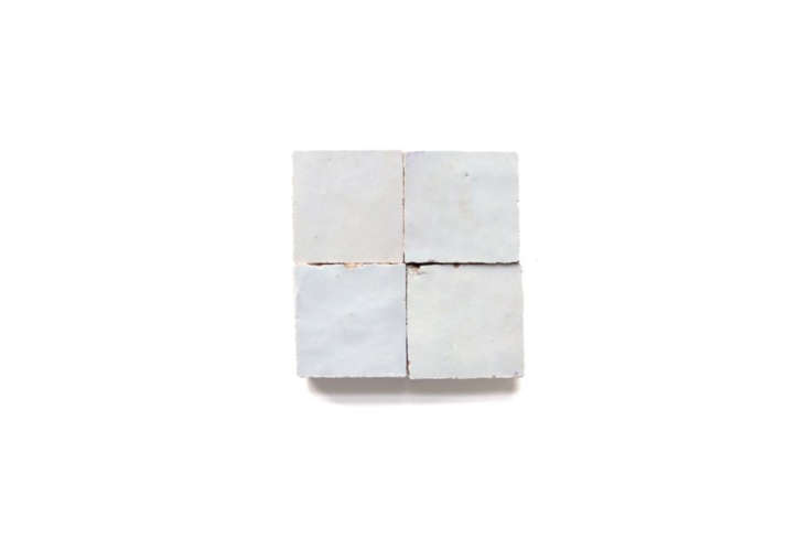 No two zellige tiles are identical, as evidenced by this Zellige Terracotta Weathered Tile.