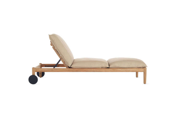 The Terassi Chaise is designed by Studio Tolvanen from Helsinki. It&#8