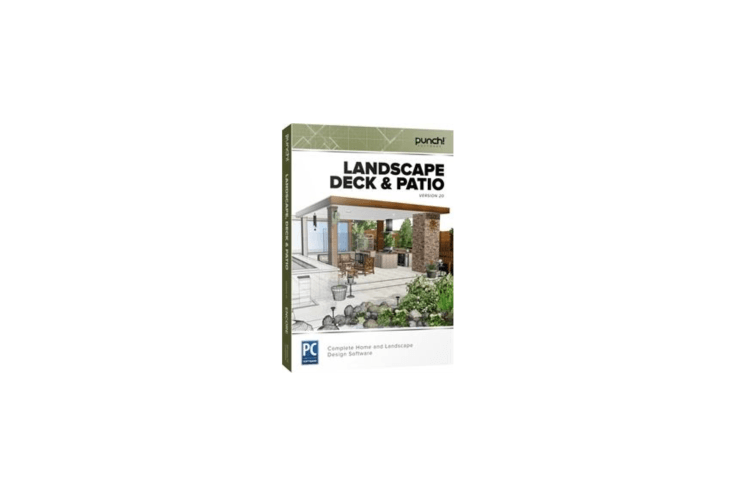 Landscape Deck & Patio is $39.99 from Punch.