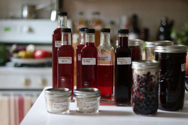Mugwort and raspberry liqueurs and more in Marie Viljoen&#8