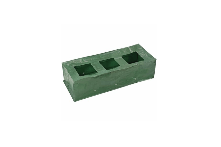 Approximately nine inches deep, aReusable Growbag &#8\2\20;made of heavy-duty polypropylene will help produce bumper crops and can be used year after year,&#8\2\2\1; notes retailer Harrod Horticultural. It is £8.95.