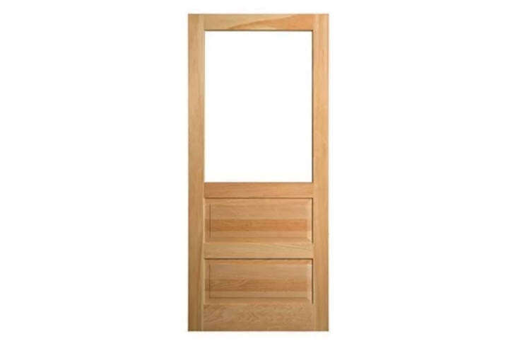 TheAdams Architectural Millwork Combination Plus Storm Door is made of clear pine without finger joints. Contact the retailer for price and ordering information.